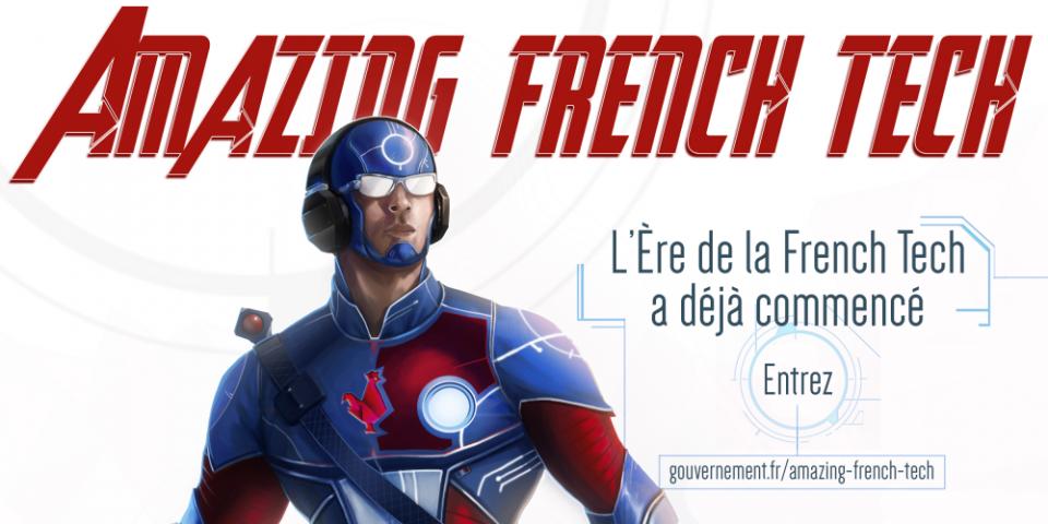 Les technos des startups au service de l'Amazing French Tech