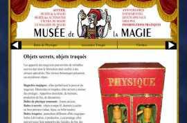 Le musée de la Magie