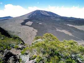 Le Piton de la Fournaise (île de la Réunion)