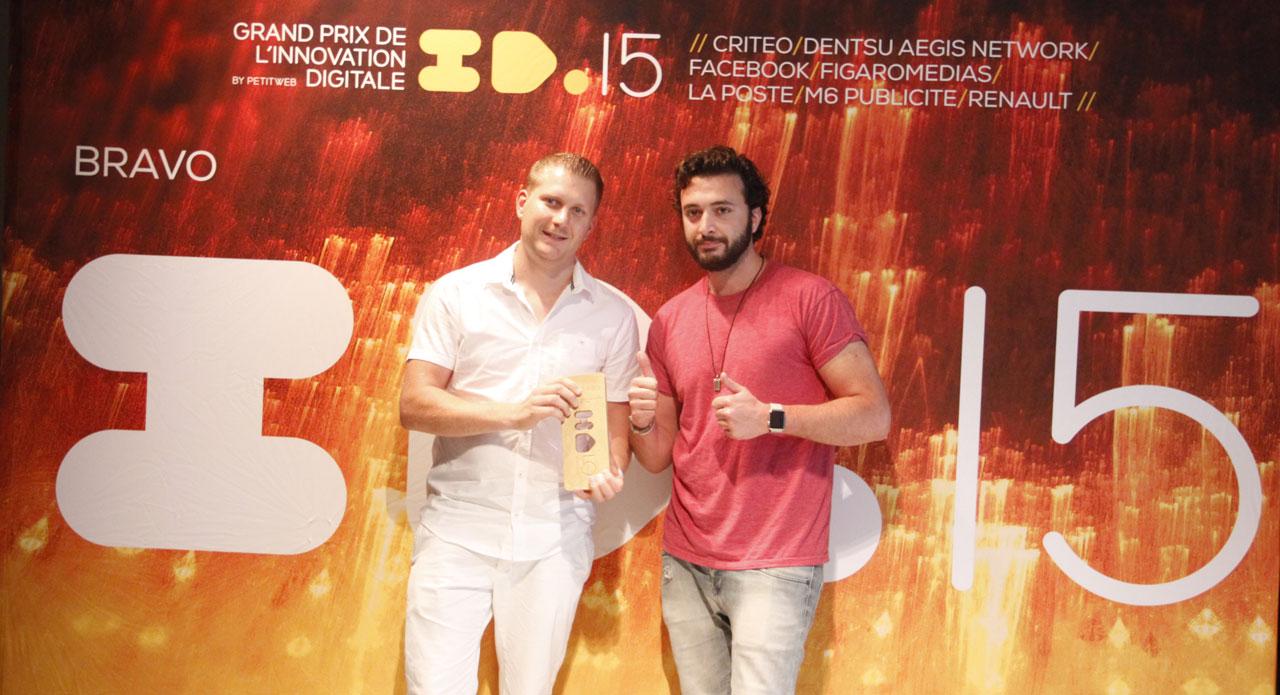 Palmarès du Grand Prix de l'innovation digitale 2015