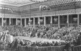 Les présidents de l'assemblée nationale constituante en 1790