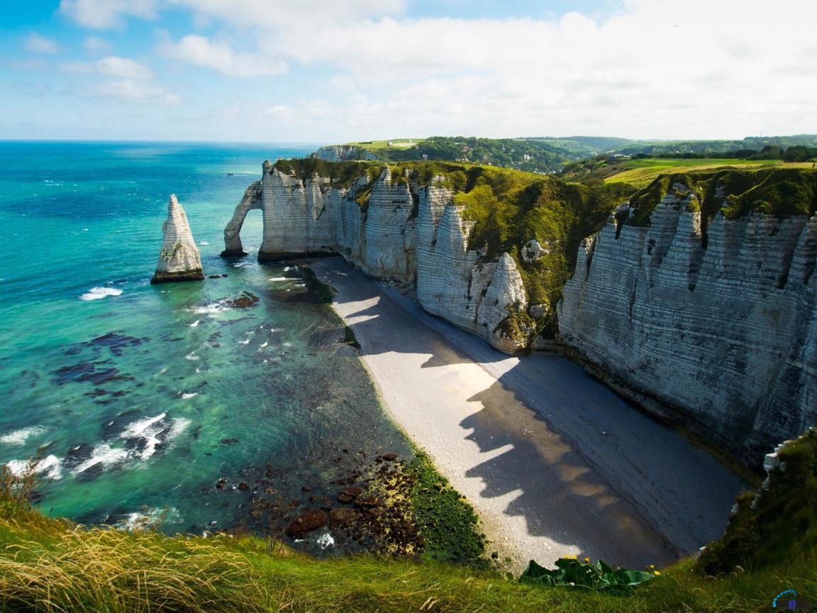 Les principales plages françaises côté Manche