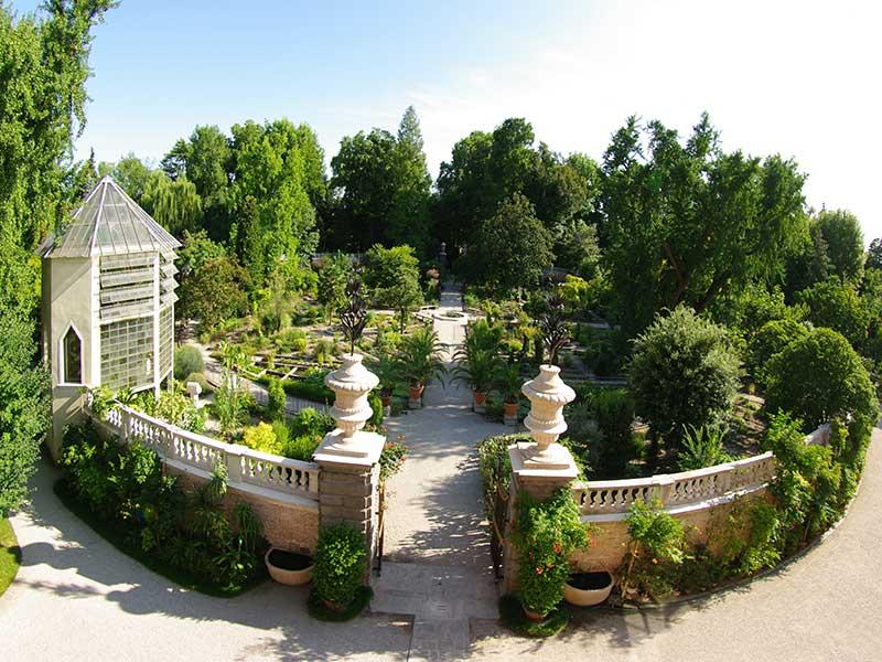 Les jardins botaniques en Italie