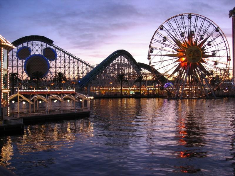 Les principaux parcs d'attraction
