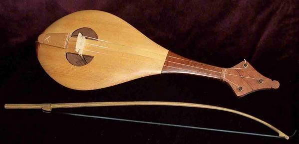 Les principaux instruments de musique à cordes frottées