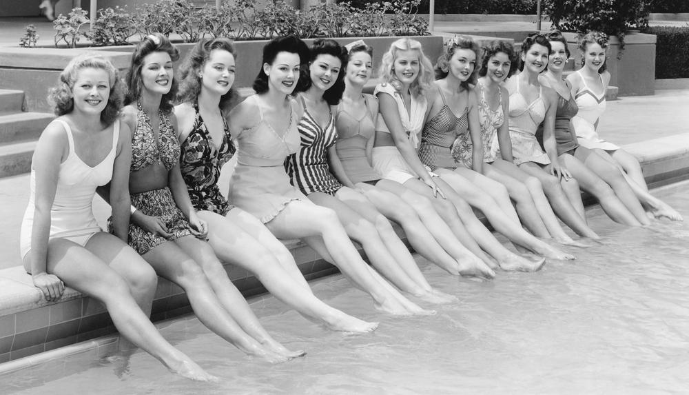 La mode des maillots de bain depuis 1910