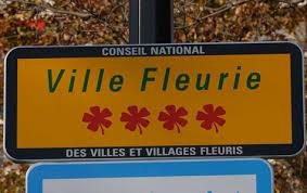 Les communes accédant à la 4ème fleur en 2012