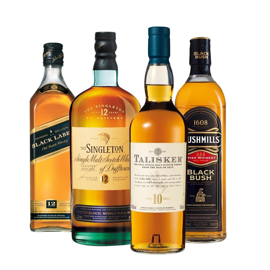 Les principales marques de Whisky