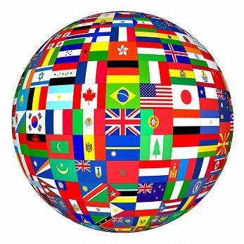 Les langues officielles du monde
